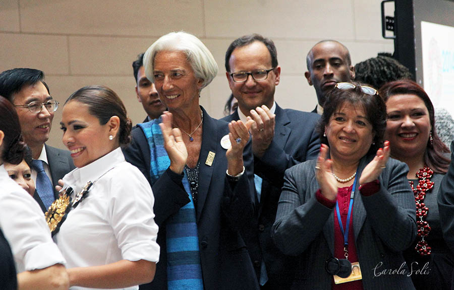 Christine Lagarde Managing Director (MD) of the International Monetary Fund (IMF)